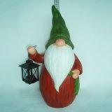 Figurinha de boneco de neve de Natal de resina com calcinha para decoração de jardim