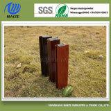 Beständige hohe nachgemachte hölzerne Korn-Wärme-Effekt-Puder-Beschichtung für Aluminium