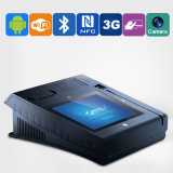 Jepower T508 All in One Touch WiFi Terminais POS Tela Android Suporte / 3G / NFC / Mag-Card / IC-Card / Impressora Térmica / Fingerprint