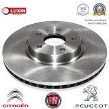 Marché des accessoires de disque de frein pour Citroen/FIAT/Peugeot