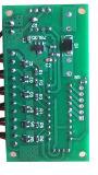 Placa de controle da chaminé do controle do APP do termostato da tela de toque do LCD com molde da cintilação