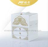 中東様式の贅沢MDFの木の宝石類の荷箱