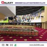 Visualización de LED fija de interior a todo color ahorro de energía de la alta definición P2 para hacer publicidad