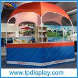 Cabine da exposição da barraca da feira profissional da abóbada do hexágono do diâmetro 3m para anunciar
