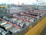 Roulis galvanisé personnalisé de paquet d'étage de panneau de toit en métal formant la machine