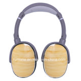 Rotatable Design Noise-Isolating Metal Headphone (prata branca)