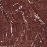 Rojo esmaltado pulido luz completa del azulejo de suelo de la porcelana de la carrocería del material de construcción del azulejo de Foshan (BMG15P)