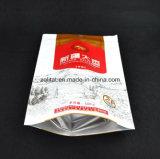 Customziedの印刷は3つの層がジッパーが付いている食糧パッケージのための直立したポリ袋を立てるポリ袋を薄板にしたジッパーの袋を立てる