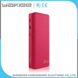 Banco impermeável da potência do USB do couro para o telefone móvel