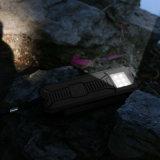 iPhone externo solar portable Samsung de Powerbank 15000mAh del panel solar de la batería