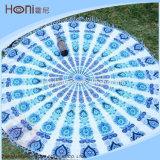 中国の卸し売り円形のビーチタオル、円のビーチタオル、100%年の綿の円形タオル