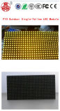 Single Yellow P10 LED Module Screen Text Display