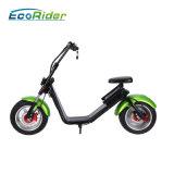 Scooter électrique de Harley avec 1200W, 60V/12ah lithium, chocs de F/R