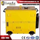 7kw 7000 watt Diesel&#160 insonorisé ; Powered&#160 ; Générateur portatif (début électrique)