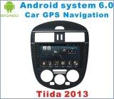 차 GPS를 가진 닛산 Tiida L 2011-2015년을%s 인조 인간 6.0 차 입체 음향