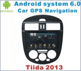 Новый Stereo автомобиля Android 6.0 Ui для Nissan Tiida 2013 с автомобилем GPS