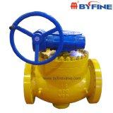 Byfine alta calidad de la válvula de bola de China, con Wcb A105 cuerpo del molde de acero