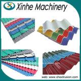 Linha de produção ondulada da máquina da telha de telhado do PVC/da telha camada dobro/linha da extrusão/máquina/extrusora da fatura