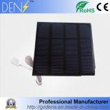 modulo solare monocristallino dei comitati solari delle cellule solari al silicio di 3W 6V per il carico 6V del sistema solare della batteria DIY