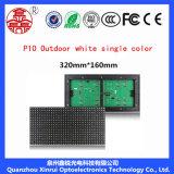 Singolo schermo bianco esterno del modulo dello schermo di colore P10 per la guida di acquisto