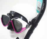 Mascherina dell'attrezzatura per l'immersione e presa d'aria adulte, tuffo della presa d'aria