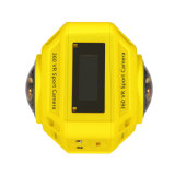 WiFi 4k câmera de 360 esportes do grau com lente dupla