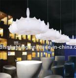 Iluminação interna do pendente da lâmpada de Clound da arte de seda branca de seda chinesa com certificado do Ce