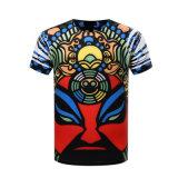 남자를 위한 면 적당한 t-셔츠를 인쇄하는 3D 디지털