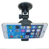 Stand réglable de support de pare-brise d'aspiration support 2519 de téléphone de rotation de 360 degrés