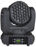 36X3wクリー族の段階装置LEDのビーム移動ヘッドディスコライトか洗浄ライト