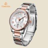 水晶合金のメタルバンドの水晶動きの女性ブレスレットの腕時計の女性上のジュネーブ71152が付いている贅沢