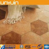 Pavimento del vinile del PVC di esagono di alta qualità fatto in Cina