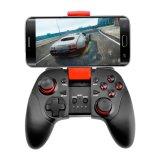 Ventas calientes Bluetooth Gamepad con el tipo de la palanca de mando del clip para el androide/IOS Smartphone