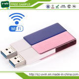 Vara sem fio do USB do disco 8GB 16GB Wi-Fi do USB da movimentação 32GB do flash do USB do OEM Smartphone WiFi