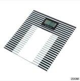 Alta calidad Digital de cristal electrónica que pesa la báscula de baño personal