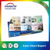 색깔 도표를 위한 서비스를 인쇄하는 고품질 직업적인 브로셔