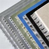 El panel de aluminio del panal Grooved, panel trasero de piedra con el cable (HR232)