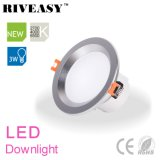 3W 2.5 lampada LED Downlight del riflettore LED di illuminazione di pollice LED