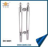 Ручка двери кристаллический стекла ручки тяги нержавеющей стали