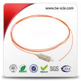 광학적인 접근 통신망 원거리 통신을%s LSZH 재킷 쌍신회로 Sc LC 광섬유 패치 떠꺼머리