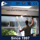 Película de seguridad adhesiva a prueba de explosiones transparente para el vidrio del edificio
