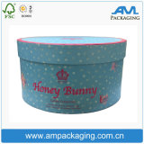 Gaint Bespoke Flower Embalagem Round Tube Pastry Box Cake Packaging