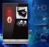 43 - Zoll-doppelter Bildschirm-Bekanntmachenspieler, LCD-Panel-Digitalanzeigen-DigitalSignage
