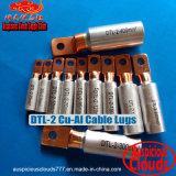 Dtl-2 het koper-Aluminium van de Schakelaars van de Kabel van de compressie de EindHandvaten van de Kabel