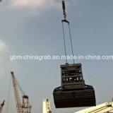position à télécommande de l'encavateur 25t pour la grue de récipient pour traiter matériel en bloc