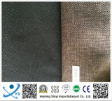 Tissu de toile ordinaire classique matériel de polyester pour les sofas et le capitonnage