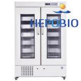 la banque de sang Refrigetator d'affichage numérique du surgélateur DEL De la double porte 1008L