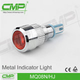 12V/24V/110V/220V LED 표시등 빨간 황록색 08mm 위원회 안내하는 빛
