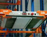 Sistema de rádio do racking da pálete da canela para a loja fria