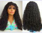 Peruca brasileira do laço da parte dianteira do cabelo com 130 densidades